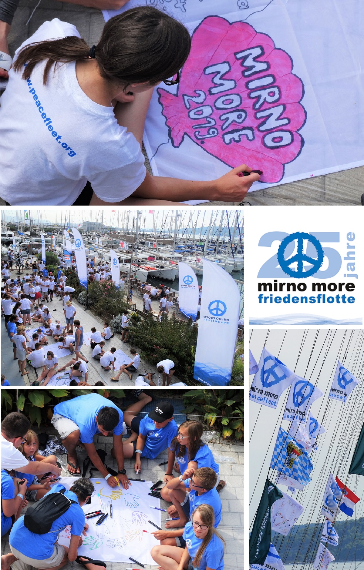 Mirno more 2019 - kolaž