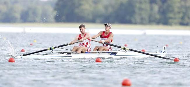 Croatia's junior men's pair